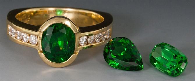 кольцо и камни