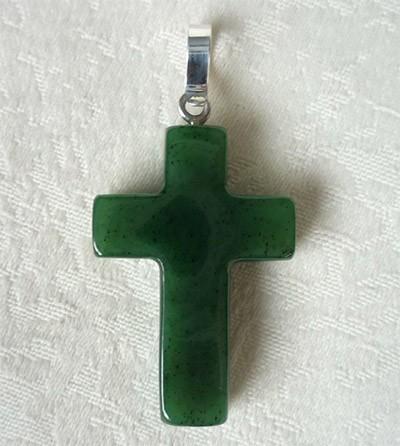 крест из нефрита