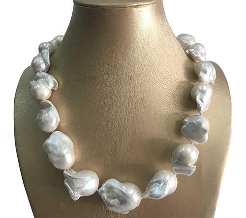 ожерелье с жемчугом барокко